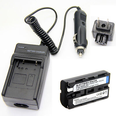 Battery + Charger for SONY CCD-TR717 CCD-TR718 CCD-TR728 CCD-TR730 CCD-TR760