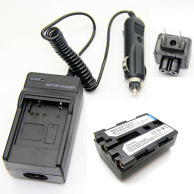 Battery + Charger for SONY CCD-TR848 CCD-TRV106 CCD-TRV107 CCD-TRV108 CCD-TRV116