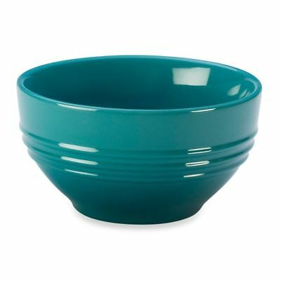 Le Creuset Stoneware Cereal Bowl 6-Inch Caribbean Blue
