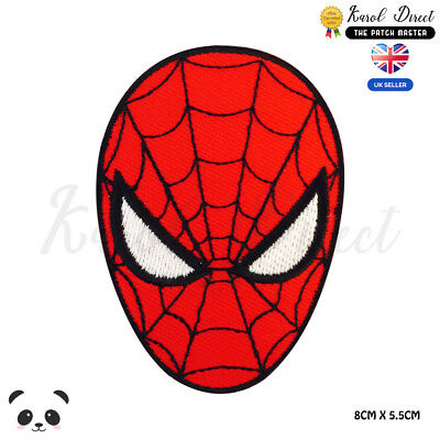 Spider man Super Hero Movie Video Game Embroidered Iron On Sew On PatchBadge