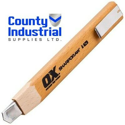 Ox Snap Off Carpenters Pencil Refillable Lead Joinery Timber Marking Tool 2HB