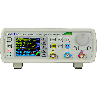 New FY6600 15-60MH 2-CH DDS Function Signal Generator Kit Sine/Square/Pulse HP