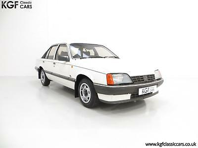 A Retro Surviving Vauxhall Carlton 2.2i GL (E2) with Just 14,851 Miles