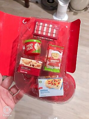 coles little shop christmas edition full set with case