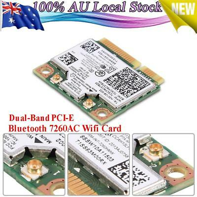 7260HMW Dual Band Bluetooth4.0 7260AC Wifi Card for Lenovo IBM Thinkpad Laptop