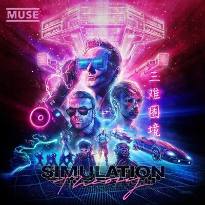 Muse - Simulation Theory (Deluxe Edition + 5 Bonus-Tracks) CD NEU & OVP