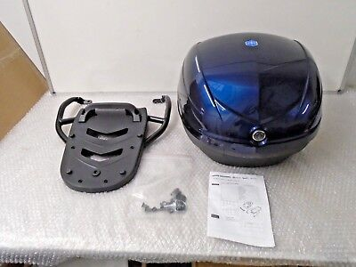 Piaggio Fly Top Case Kit 33 Litre Midnight Blue 222/A New RRP £167!!! 67253200DE