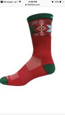 1a5c69534f0 BROOKS PACESETTER UGLY Sweater Crew Sock