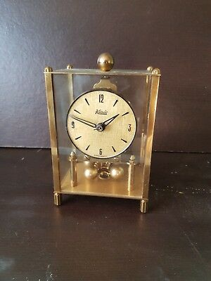 KUNDO   Glass Domed Anniversary Clock-SPARES OR REPAIR