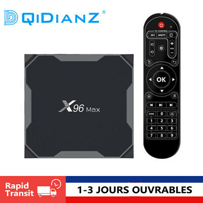 DQiDianZ X96MAX Android 8.1 Amlogic S905X2 Quad Core Multimédia Smart TV BOX