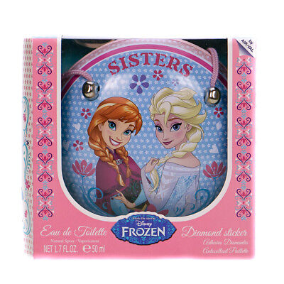 Disney Frozen Perfume Gift Set With Mini Bag & Gem Stickers