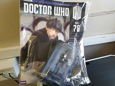 Doctor Dr Who Eaglemoss Figurine Collection - Issue 76  - The Second Doctor