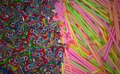 900 Teile Neon Sticks/Clown Bonbon Mix ! Top Wurfmaterial Karneval Fasching