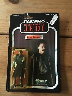 Starwars Return Of the Jedi Lando Calrissian Vintage 1083
