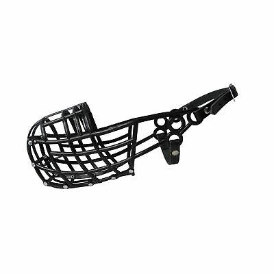 Don Pare 107 greyhound racing muzzle in Black Lurcher Sloughi Saluki dogs wit...