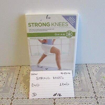 Gaiam Strong Knees with Chantal Donnelly DVD-includes beginner & advanced 0925