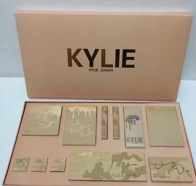 Geant Coffret maquillage Kylie Cosmetics Jenner Contouring rouge a levres Mat
