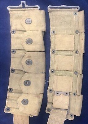 WW2, US Army, Cartridge Belt for M1 Rifle, Issued