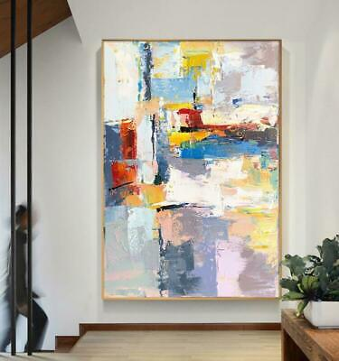 HH280 Modern Home decoration 100% Hand-painted Abstract oil painting on canvas