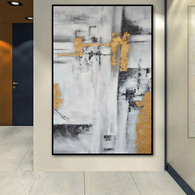 HH268 Modern Home Decor Abstract oil painting Hand-painted on canvas Color art