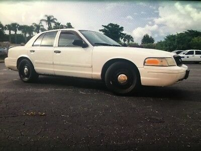 2007 Ford Crown Victoria Police interceptor 2007 ford crown victoria p71 police interceptor