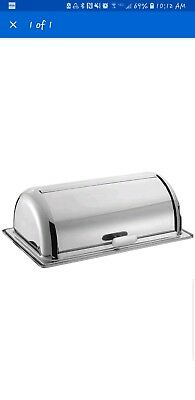 "HUBERT� Full Size Stainless Steel Roll Top Chafer Cover - 21""L x 13""W x 6 1/2""H"