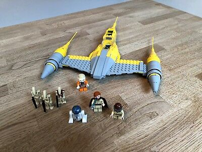 LEGO Star Wars Naboo Starfighter 75092 Gebaut+Zerlegt Built+Deconstructed