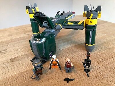 LEGO Star Wars Bounty Hunter Assault Gunship 7930 Gebaut+Zerlegt Built+Deconstru