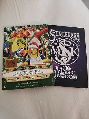 Sorcerers of the magic kingdom Very Merry Christmas Party 2018 Exclusive 1 card