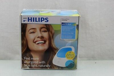 Philips goLITE BLU Energy Portable Light Therapy Lamp, HF3422/60 SEALED 30S3