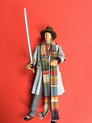 Dr Doctor Who 4th Doctor Tom Baker Figure 11 Classic Sword & sonic screwdriver