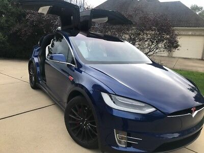 2016 Tesla Model X Ludicrous like new 2016 Tesla Model X P90D Ludicrous W autopilot and premium package