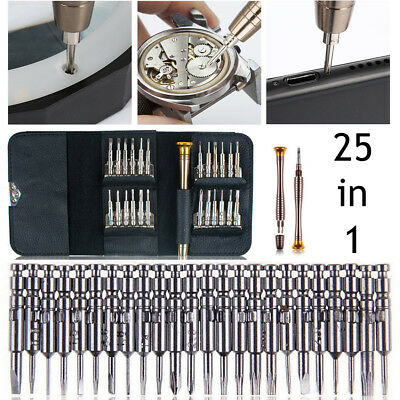 25 in 1 Precision Torx Screwdriver Set Cell Phone Repair Tool Kit iPhone Laptop