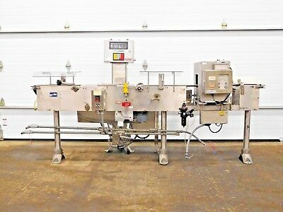Rx-4371, Goring Kerr / Mettler Toledo High Speed Checkweigher Metal Detector