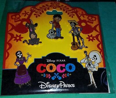 Disney Pins Coco Booster Pack Set Miguel Dante FREE SHIPPING AUTHENTIC