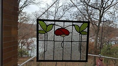 sun catcher replica of old English stained glass window!