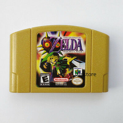 Nintendo N64 Game: The Legend of Zelda Majora's Mask Game Card US/CAN Version