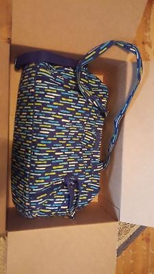 Vera Bradley Katalina Blues Stroll Around Diaper Bag
