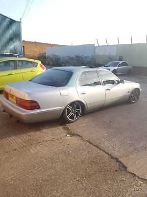 Lexus ls 400 juiced hydraulics not air ride show car low rider