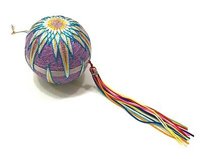 Japan Import New Vintage Traditional Japanese Temari Hand Ball 7x7cm