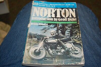 Norton by Dennis Howard Ballantine's Illustrated History Book Number 9