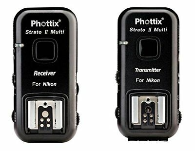Phottix Stratos II Multi 5-in-1 Nikon Transmitter and Receiver