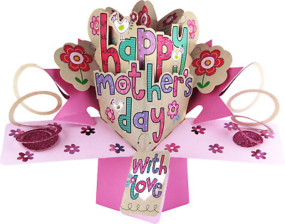 Mothers Day Pop Up Card Valentine's Valentine and All Occasions Cards