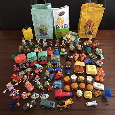 Vintage McDonald's Happy Meal Toys Mixed Lot