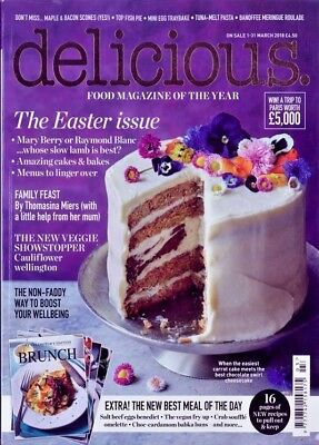 Delicious Magazine Issue March 2018 ~ New ~