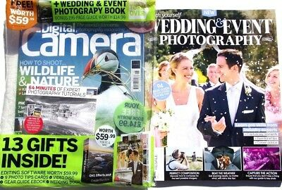 Digital Camera Magazine June 2018 Big Pack With Wedding & Event Photography Book