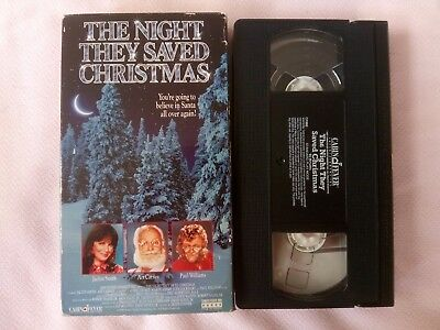 The Night They Saved Christmas (VHS, 1995) GC