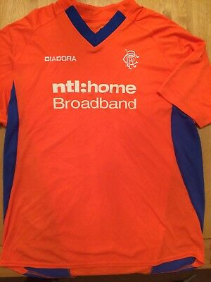 Glasgow Rangers Mega Rare Orange Shirt (XL) 46""