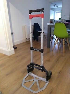 Magna Cart Hand Truck Trolley Foldable 68KG Weight 150LBs RRP £50