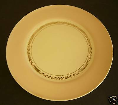 Antique ART DECO AMERICAN LIMOGES CANDLELIGHT FEDERAL CORAL PINK PLATTER PLATE